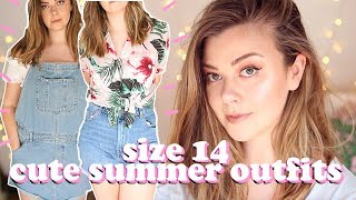 SIZE 14 SUMMER OUTFITS - MINI ASOS HAUL | LUCY WOOD