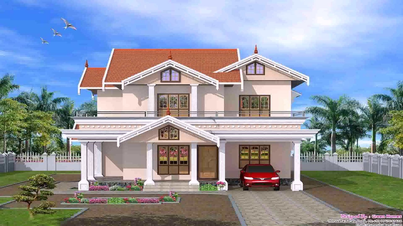 Front Balcony Roof Design Youtube