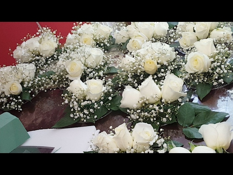 Como Hacer Arreglos De Flores Para Pastel De Bodas O 15 Años Sencillos