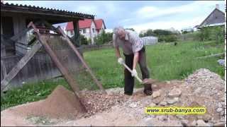 видео Как сделать бетон. Пропорции бетона в ведрах.