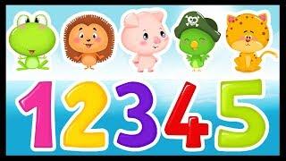 Les chiffres en chanson - Comptines pour apprendre à compter aux bébés - Titounis