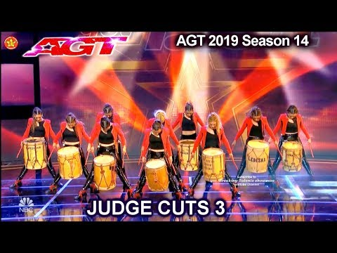 Revolution Queens Malambo Group from Argentina | America's Got Talent 2019 Judge Cuts