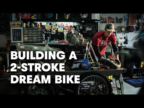 Rebuilding a Honda Two-Stroke Bike | Project Two-Stroke 2.0 | Bike Builds with Aaron Colton