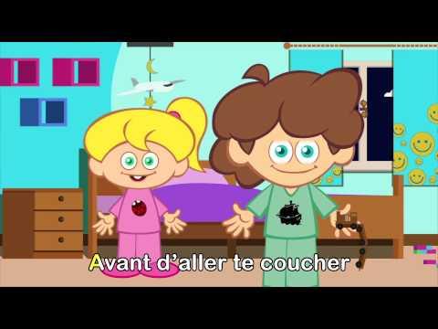 Escovar Os Dentes Lave Tes Dents Aprender Francês Canção Infantil Com Legendas Youtube