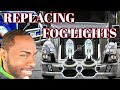How To Replace or Change Front Fog Lights Bulbs On Volvo Trucks Vnl 780 or vnl 670 #1