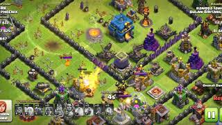 Defensive base for town hall 12 rusher's
