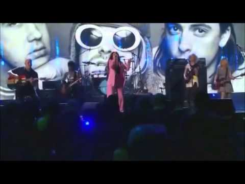 Lorde & Nirvana - All Apologies HBO (PRO Shot) Rock Hall of Fame 2014