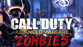Call Of Duty Exo Zombies:  'Decent' First Room Challenge! (2nd Attempt)
