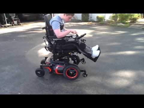 A new view of life with Permobil power wheelchair
