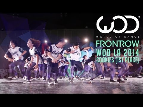 Cookies 1st Place | FRONTROW | World of Dance #WODLA '14