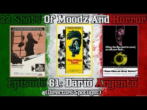 Podcast: 22 Shots of Moodz and Horror (Italian Month) Ep. 61 | Dario Argento (The Animal Trilogy)