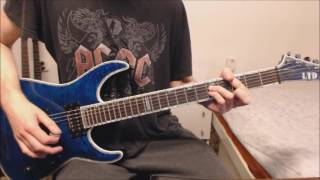 HammerFall Last Man Standing Guitar Cover