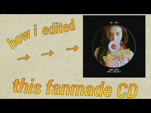 TUTORIAL: How I Edited A Fanmade CD