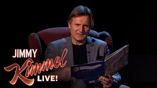 Liam Neeson Reads A Bedtime Story