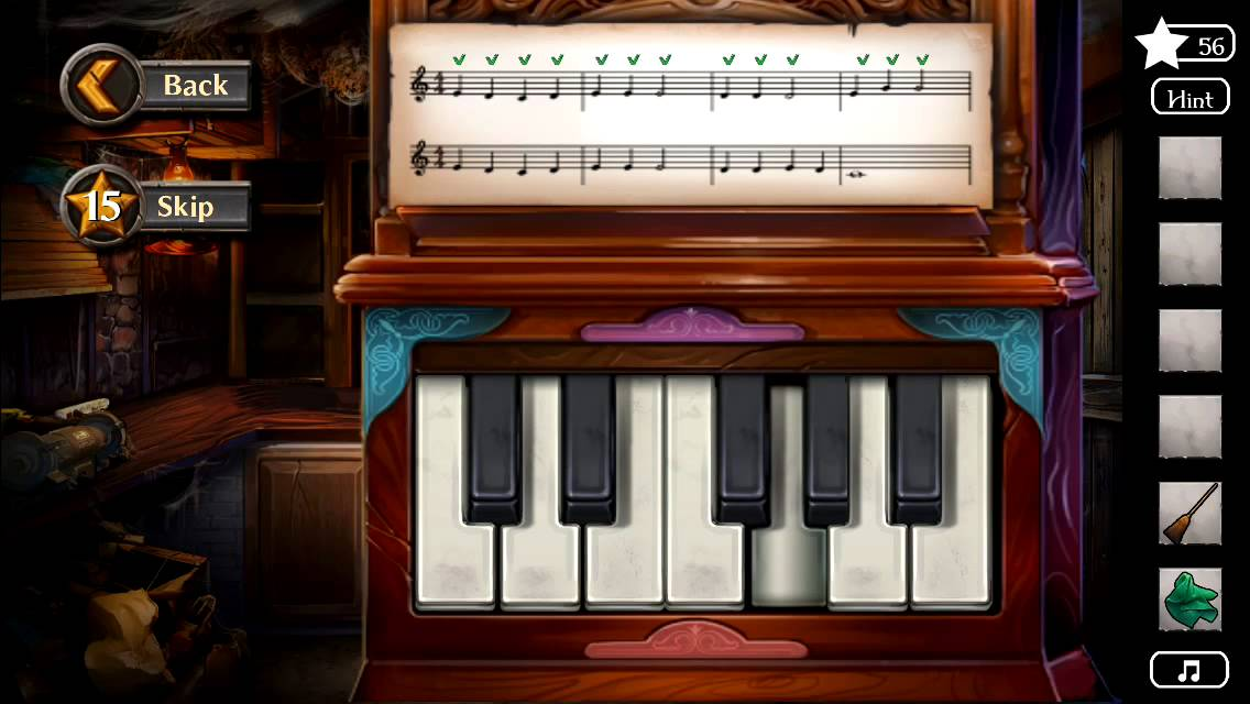 Adventure Escape Murder Manor Walkthrough Piano Puzzle