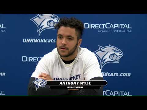 UNH Men's Hockey Prepares to Host Army and Merrimack College (12.7.17)