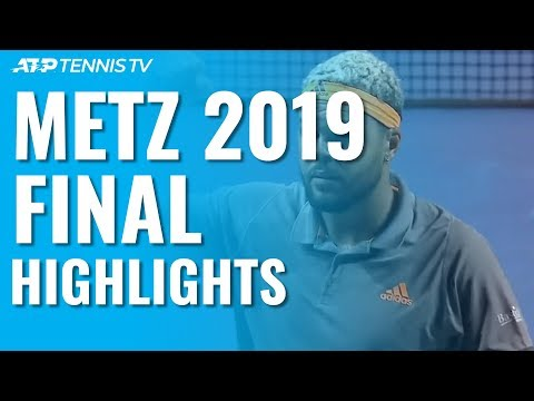 Tsonga Triumphs For Fourth Time At Moselle Open! | Metz 2019 Final Highlights