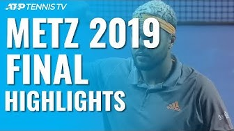 Tsonga Triumphs For Fourth Time At Moselle Open!   Metz 2019 Final Highlights