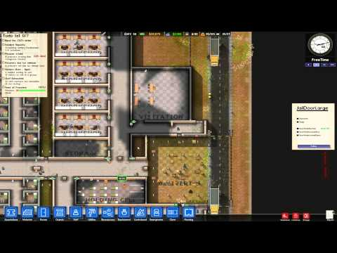 Prison Architect Alpha 16 - Let's Play Part 16 (Solitary)