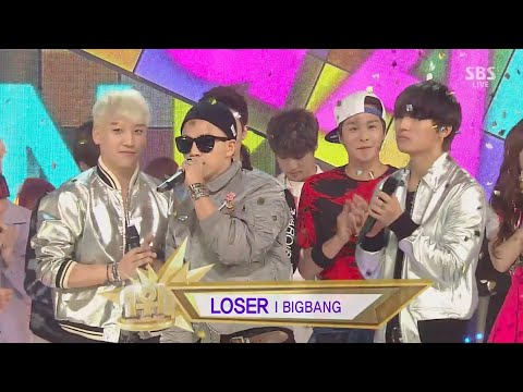 BIGBANG – 'LOSER' 0524 SBS Inkigayo : NO.1 OF THE WEEK