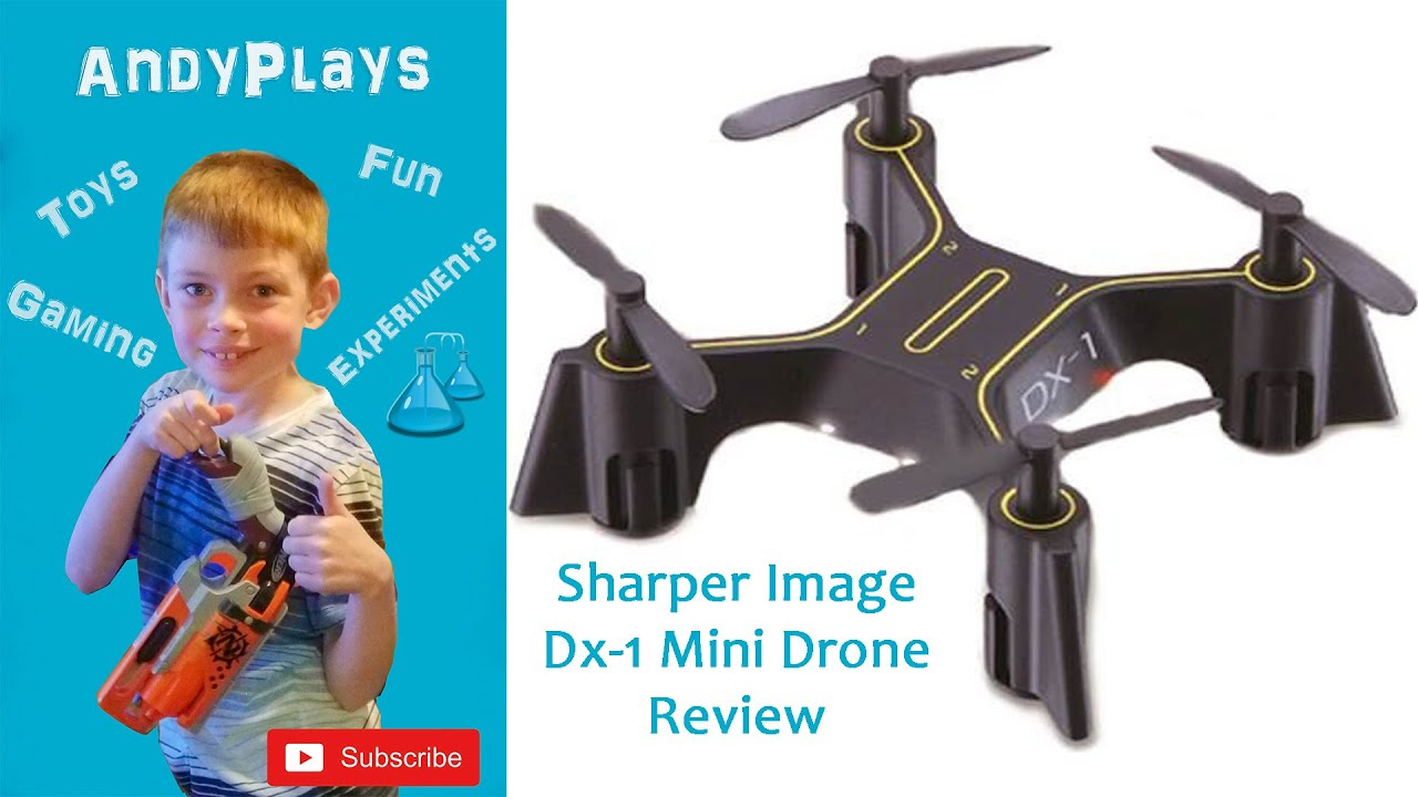 Sharper Image Dx 1 Mini Drone Review Youtube