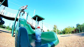 ULTIMATE PLAYGROUND BOTTLE FLIPPING