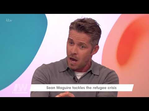 Sean Maguire's Wife Is Braver Than He Is   Loose Women