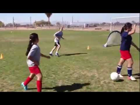 Jessica McDonalds Soccer Clinic presented by Coach Cameron Academy
