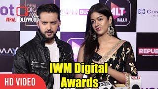 Vatsal Sheth And Ishita Dutta At IWM Digital Awards | ALT Balaji