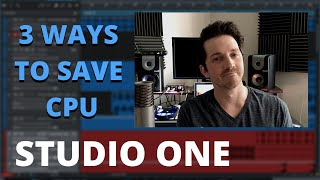 How To Save CPU In Studio One   Keep Your DAW From Glitching