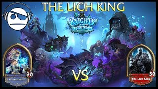 Hearthstone | Knights of the Frozen Throne | The Lich King Vs Mage