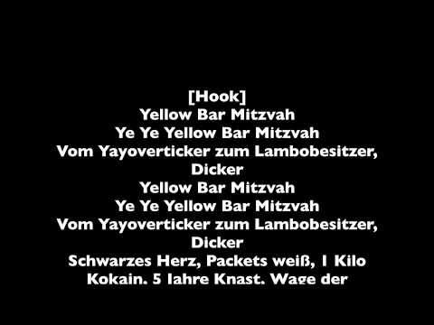 SpongeBOZZ - Yellow Bar Mitzvah || LYRICS