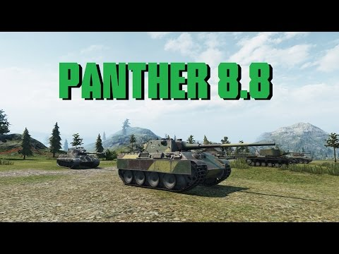 World of Tanks Panther mit 8,8 cm L/71 - 5 Kills 6,8K Damage from YouTube · Duration:  9 minutes