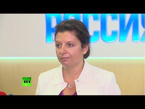 Симоньян о допросах сотрудников РИА Новости Украина: Надеюсь, Россия ответит - видео онлайн