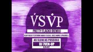 ASAP Rocky Pretty Flacko REMIX (Chopped and Screwed by DJ 7Ven-Up)