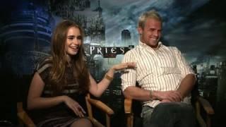 'Priest' Cam Gigandet & Lily Collins Interview