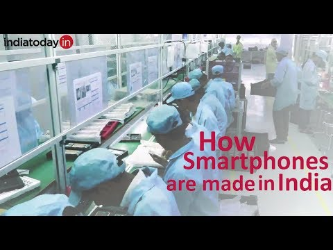 How your smartphone is made - A look inside a phone factory in India
