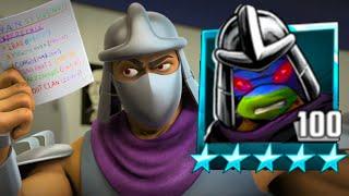 Every Shredder SOLO vs Turtles - Teenage Mutant Ninja Turtles Legends