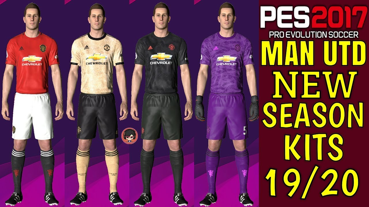 Pes 2017 Manchester United Official Kits 19 20 Gaming With Tr