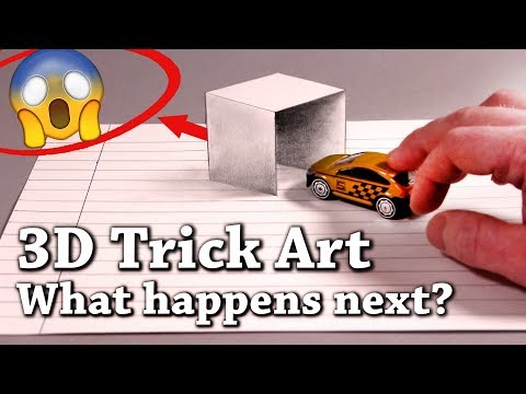 Easy 3D Drawing Illusions To Test Your Brain! Episode 2