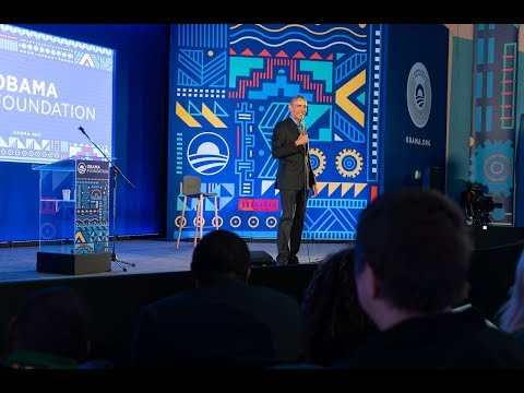President Obama hosts a Town Hall with Leaders: Africa