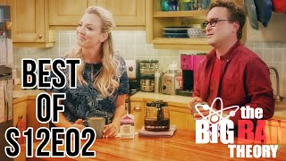 The big bang theory s12e02 Best funniest moments