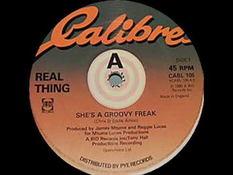 Real Thing - She's a Groovy Freak