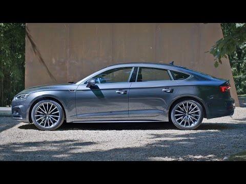 2017 Audi A5 Sportback S line - Footage