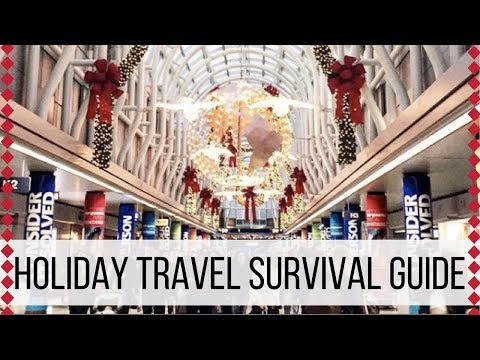 HOLIDAY TRAVEL SURVIVAL TIPS   Wander Wealthy's 12 Days of Christmas