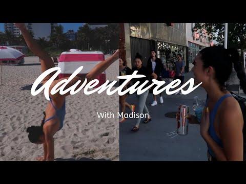 FOLLOW ME AROUND MIAMI BEACH ! Madness with Madison EP. 2