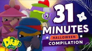Halloween Nursery Rhymes - Shadow Ninjas Compilation   Didi & Friends