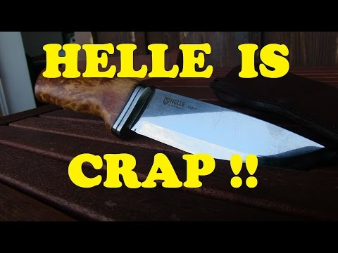 OMG: HELLE Knife with major quality problems!!!! NOT RECOMMENDED!!!
