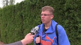 Matěj Vocel po prohře v prvním kole na turnaji Futures v Pardubicích