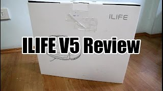 ILIFE V5 Unboxing, Cleaning Test and Review